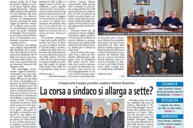 Prima pagina – 31 marzo 2017
