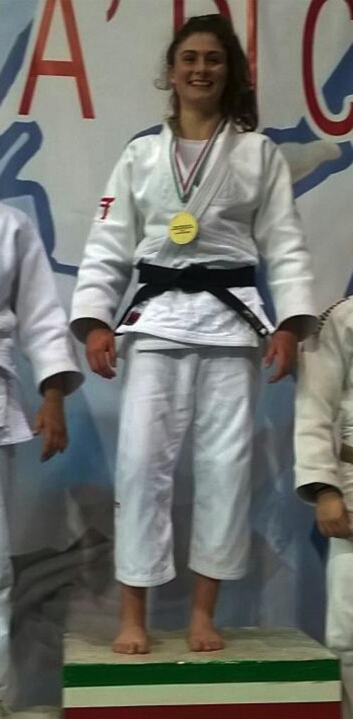 Judo. Silvia Pellitteri oro a Genova
