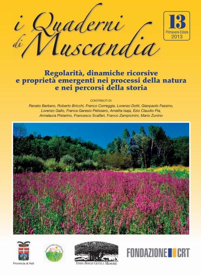 A Pino d'Asti la presentazione del volume numero 13 dei Quaderni di Muscandia