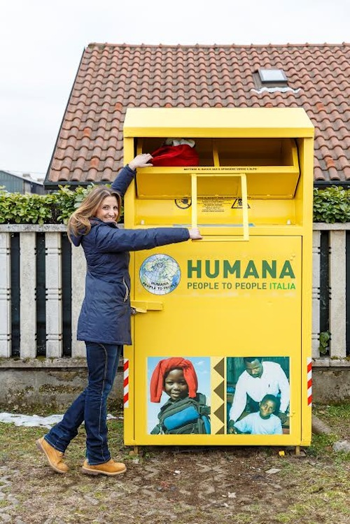 Villanova d'Asti premiata per la donazione di abiti ad Humana