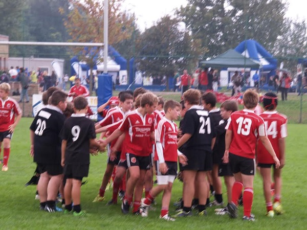 Junior Asti Rugby. Vittoria dell'under 12 a Chieri