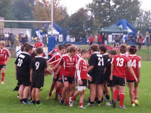 Junior Asti Rugby. Vittoria dell'under 12 a Chieri