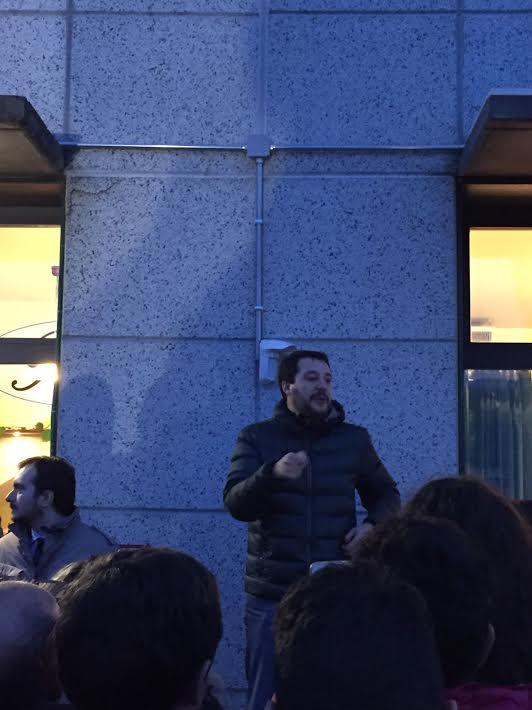 Referendum. Matteo Salvini a Castelnuovo Calcea