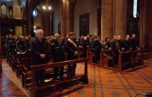 La polizia municipale di Asti celebra San Sebastiano