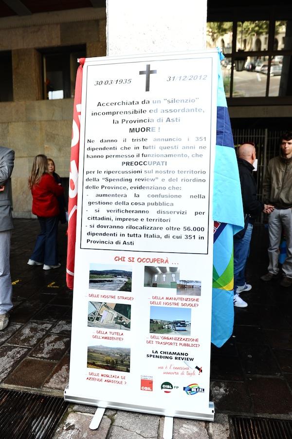 Tagli al trasporto pubblico locale: manifestazione dei lavoratori ad Asti