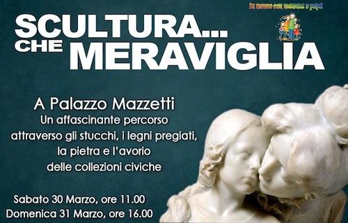 Un viaggio fra le sculture di palazzo Mazzetti
