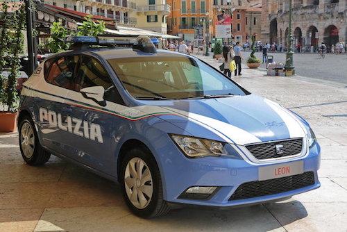 In servizio alle Volanti di Asti la nuova Seat Leon della polizia di Stato