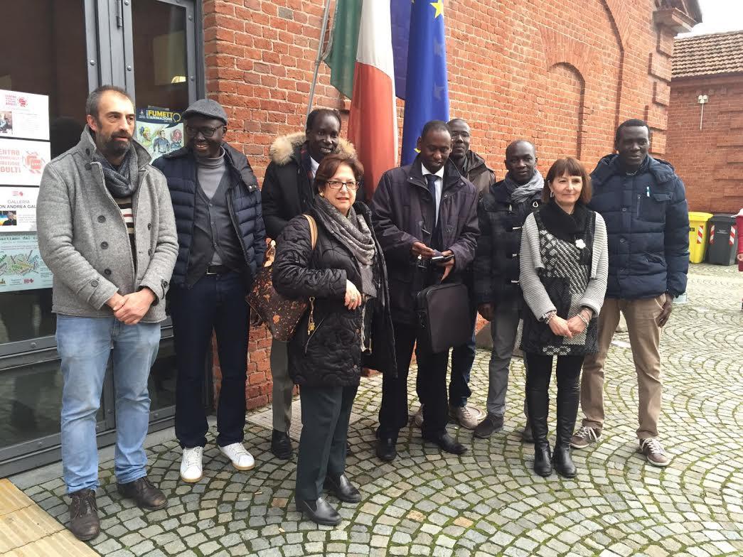 Una delegazione del Senegal in visita al Cpia di Asti