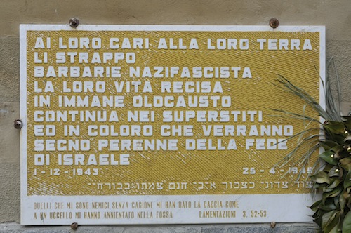 Il 1° dicembre Asti ricorda i suoi ebrei