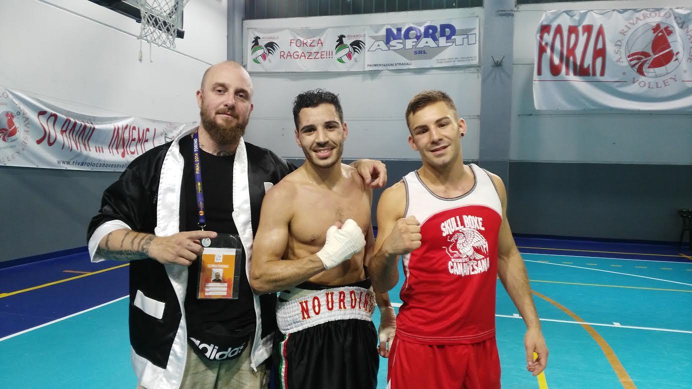 Due vittorie per la Skull Boxe a Rivarolo Canavese