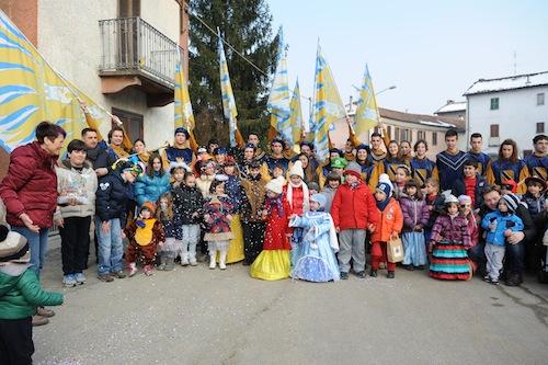 Le foto dei festeggiamenti di carnevale nell'Astigiano