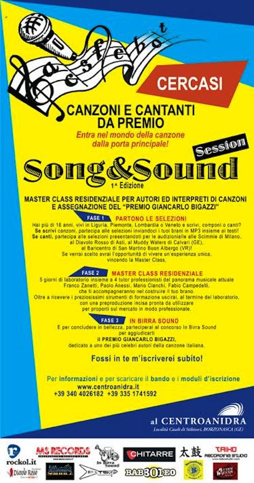 Sei autore o cantante? Song & Sound è il concorso che fa per te