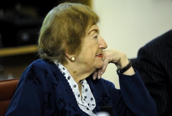 L'addio astigiano alla poetessa Maria Luisa Spaziani