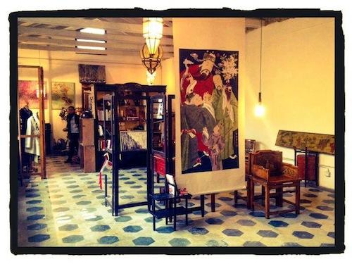 In via Quintino Sella uno spazio tutto dedicato all'arte
