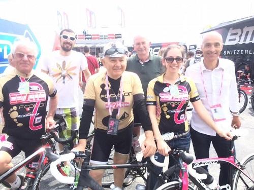 AtBike alla partenza del Giro d'Italia