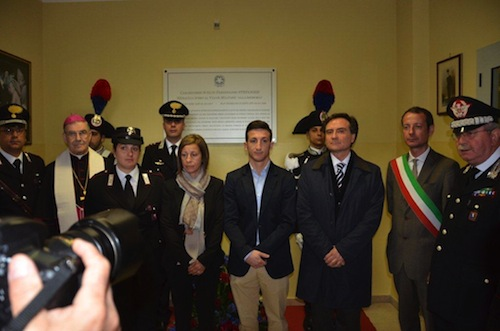 La caserma dei carabinieri di San Damiano d'Asti intitolata a Stefanizzi