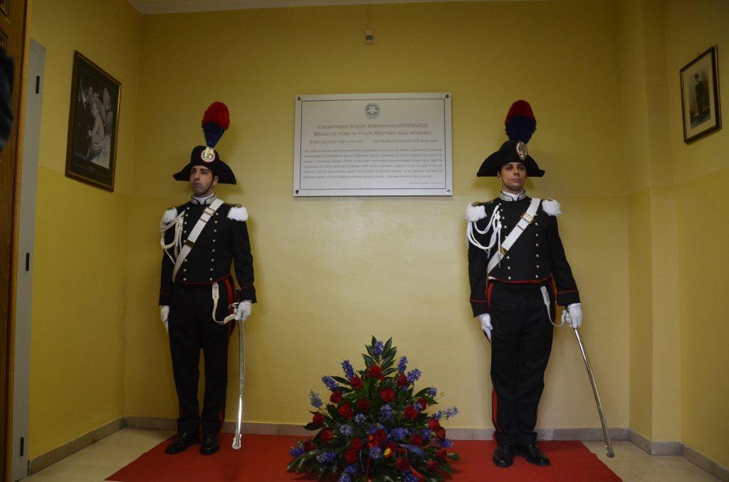 San Damiano d'Asti ricorda il suo eroe: la caserma intitolata al carabiniere Stefanizzi