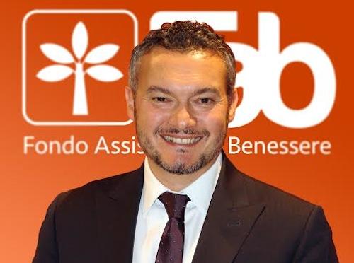 Stefano Sasso è il nuovo direttore generale del Fondo Assistenza e Benessere
