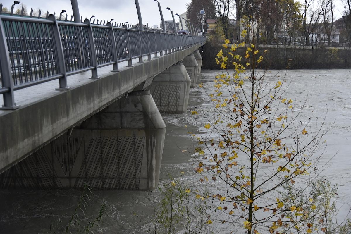 Maltempo in Piemonte: i livelli irdometrici dei fiumi non sono preoccupanti