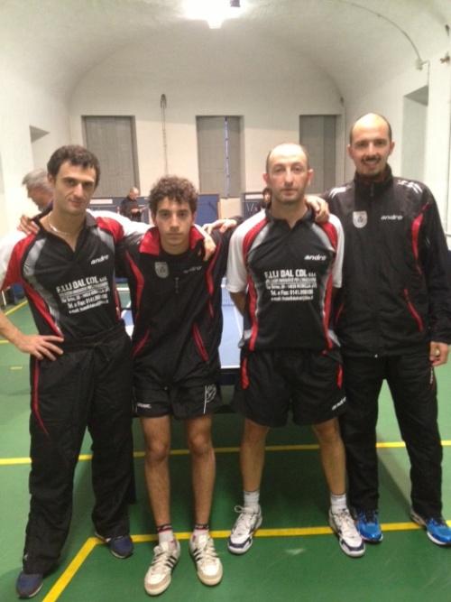 Tennis tavolo: esordio vincente per il Dal Col