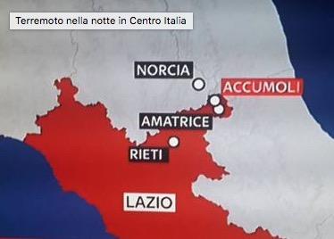 Sisma in centro Italia. La Protezione Civile del Piemonte ritorna allo stato di normalità