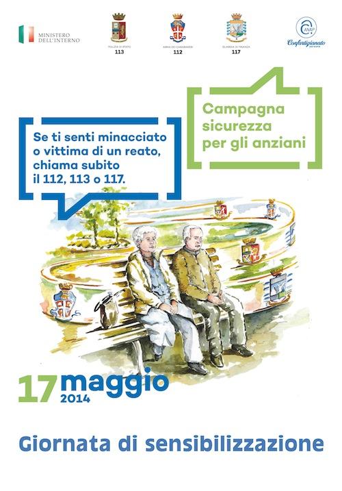 Il 17 maggio la prima giornata di sensibilizzazione contro le truffe agli anziani