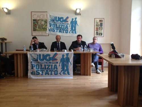 Carenza d'organico e sicurezza: i vertici del sindacato di polizia Ugl in riunione ad Asti