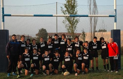 """Junior Asti Rugby: netta vittoria dei """"tuttineri"""" under 16 contro il San Mauro"""