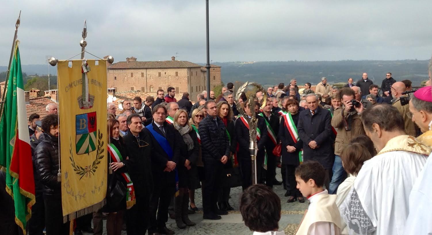 La Giornata provinciale del Ringraziamento di Coldiretti a Bruno d'Asti