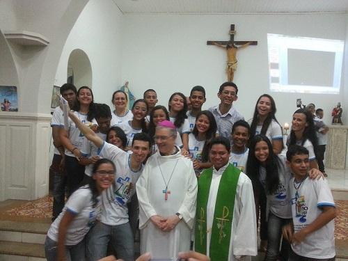 Sulle strade del mondo nella chiesa N.S. di Lourdes per ricordare la Gmg di Rio de Janeiro