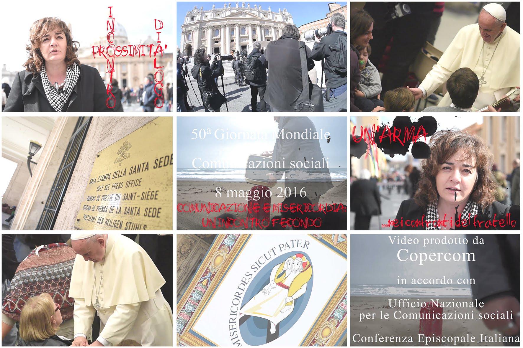 """""""Comunicazione e misericordia: un incontro fecondo"""": un video del Copercom"""