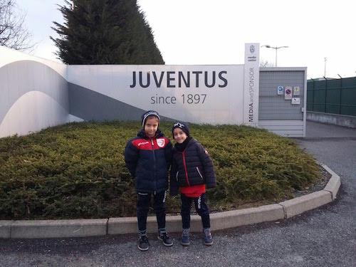 Provini alla Juventus per due giovanissimi della Polisportiva Mezzaluna