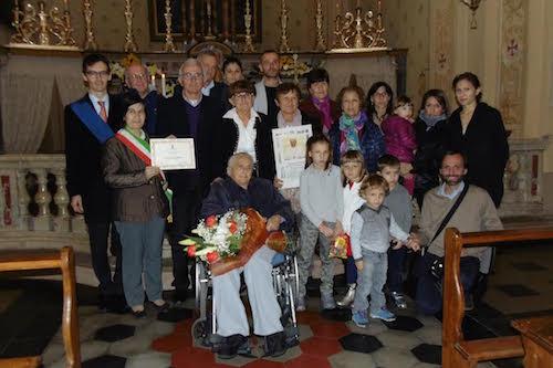 Montafia festeggia la sua patriarca