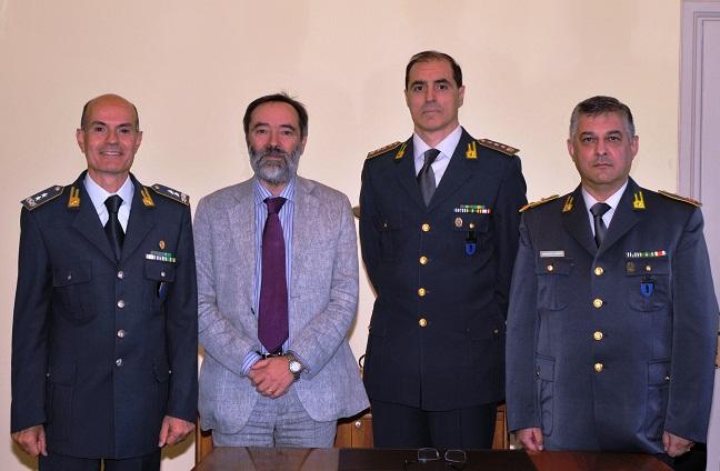 Il comandante regionale Piemonte delle fiamme gialle visita la Brigata di Canelli e la Tenenza di Nizza Monferrato