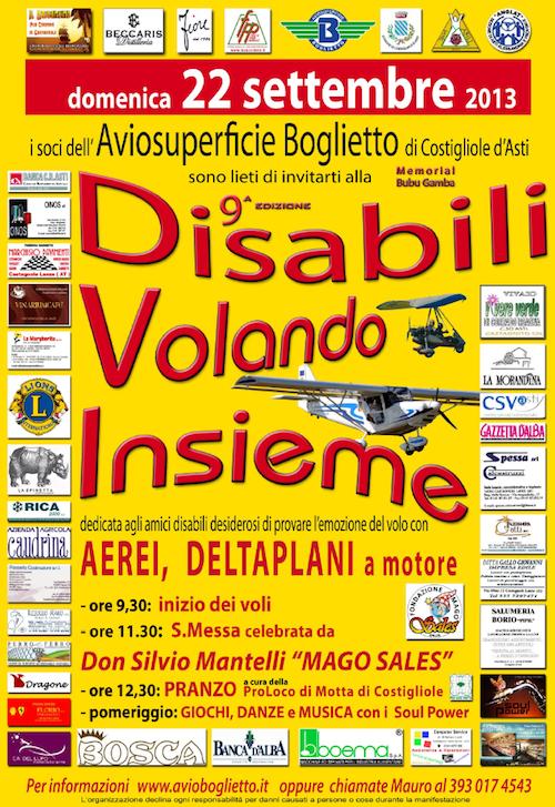 A Boglietto la nuova edizione di Disabili Volando Insieme
