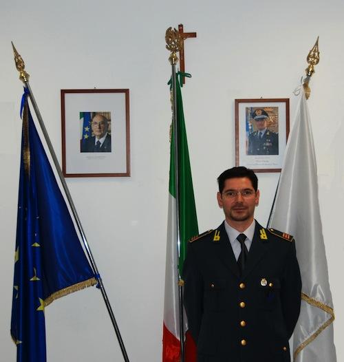 Il maresciallo Volpe lascia la guardia di finanza di Asti
