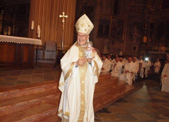 I 50 anni di messe del vescovo Ravinale: la fotogallery