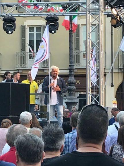 Beppe Grillo ad Asti: la fotogallery