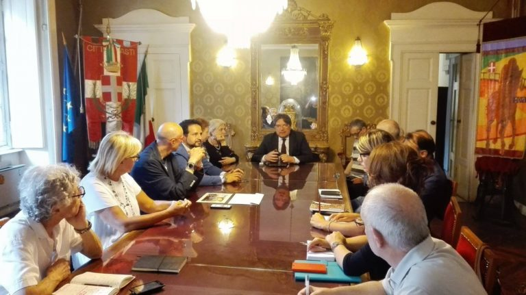 Si lavora al dossier per candidare Asti a Capitale Italiana della Cultura 2020