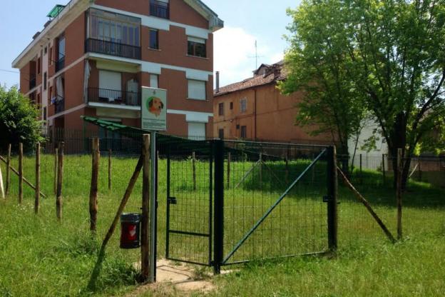 Completata la nuova area cani al parco Biberach
