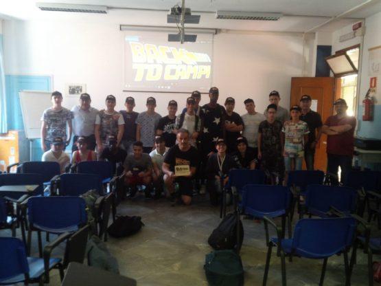 La solidarietà dei ragazzi del Castigliano per i terremotati di Campi di Norcia