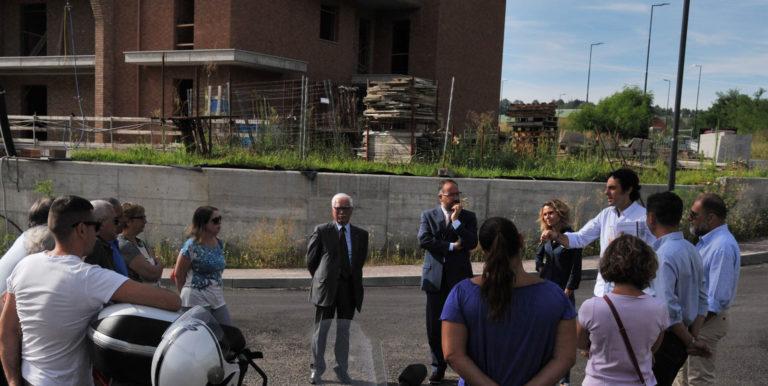 Incontro a Villaggio Bellavista con il sindaco Rasero e l'assessore Morra