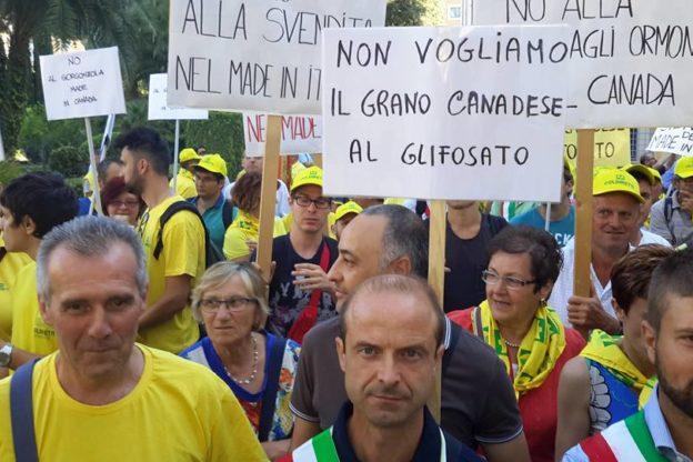 """Coldiretti: """"Un'alleanza trasversale per contrastare il Ceta"""""""