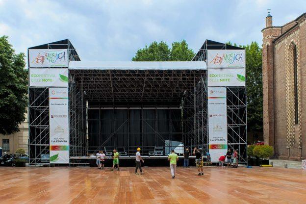 Astimusica: pronto il palco, domani il debutto