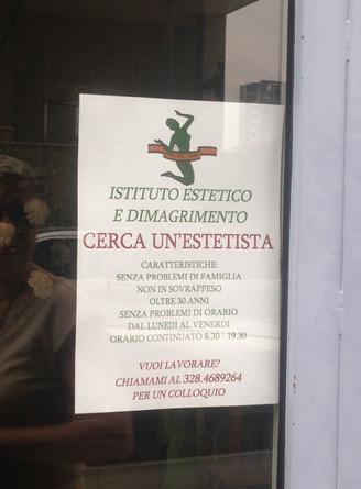 """Annuncio centro estetico. Cgil Asti: """"Donne non rispondete"""""""