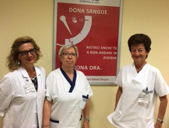 Il servizio di Medicina Trasfusionale dell'Asl At diventa riferimento per l'Area Sud-Est del Piemonte