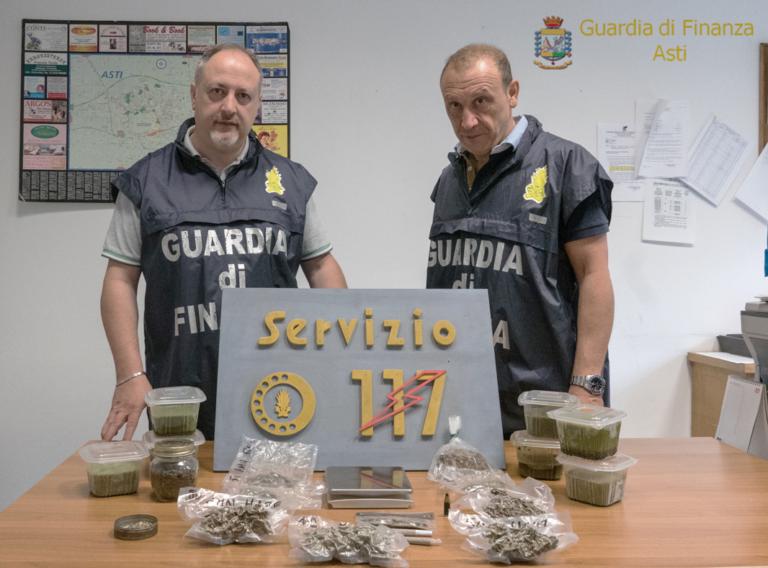 La finanza scopre una serra di marjuana a Castello di Annone
