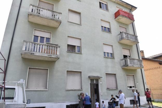 Sgomberata la palazzina occupata di strada Fortino