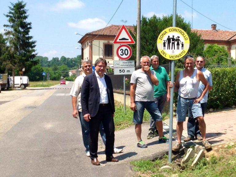 Installati anche a Valmanera i cartelli del controllo del vicinato