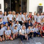 Delegazione di giovani sportivi statunitensi ricevuta in municipio ad Asti
